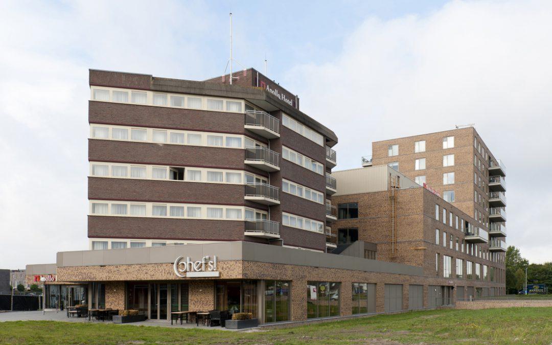 Gevelrenovatie Apollo hotel Papendrecht
