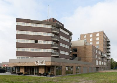 Gevelrenovatie Apollo hotel Papendrecht
